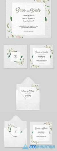 Save the Date Invitation Template 1183731