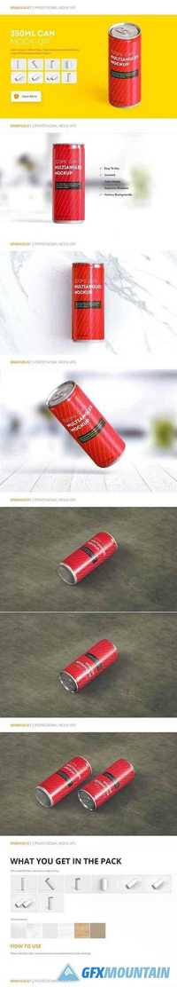 Energy Drink Can Mock-up 1204609