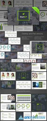 StartUP PowerPoint Template 1469103