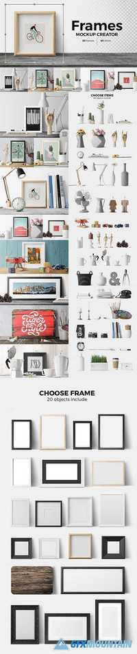 Frames. Mockup Creator 1412661