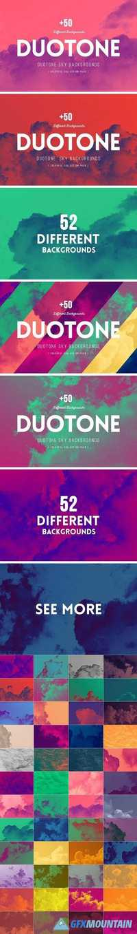 +50 Duotone SKY Backgrounds 1423316