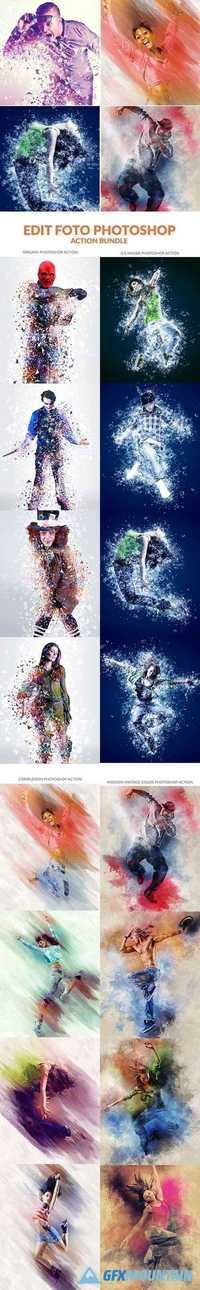 Edit Foto Photoshop Action Bundle 19976713