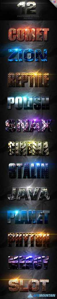 Light Photoshop Text Effect Vol 1 19873613