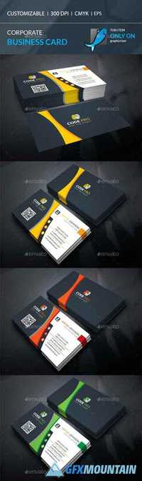 Corporate Business Card 20092716