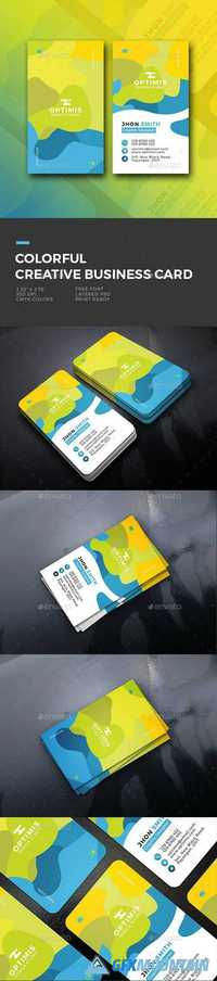 Colorful Creative Business Card 20121184
