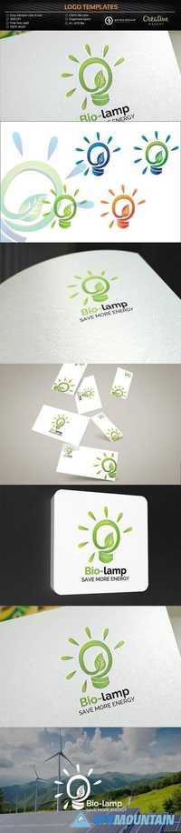 Bio Lamp / Energy - Logo Template 1241613