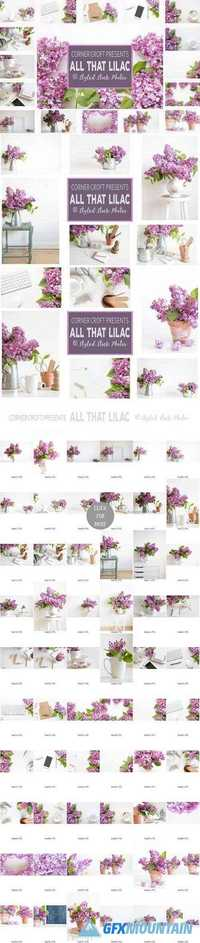 Lilac Styled Stock Photo Bundle 1515999