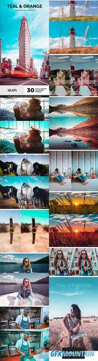 30 Teal & Orange Lightroom Presets 20169828