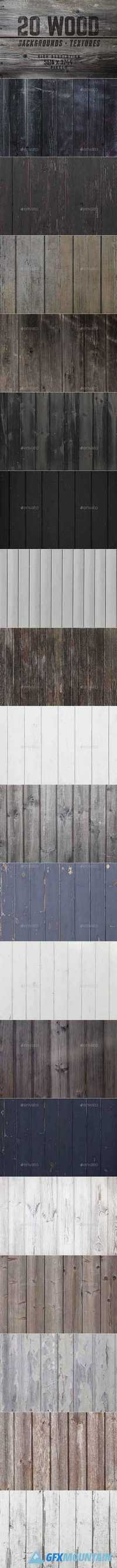20 Beautiful Wood Backgrounds Textures 20222804