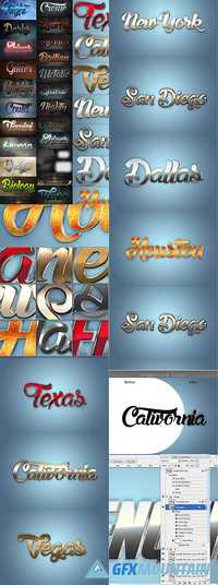 30 Bundle 3D Text Styles RA 20243065
