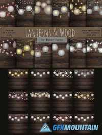 LANTERNS AND WOOD 1592906
