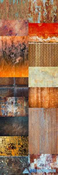 Rusty Metal Background 3
