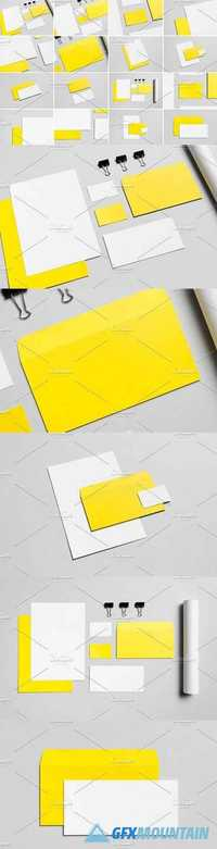 Stationery Mock-Up Photo Bundle 4 1632827