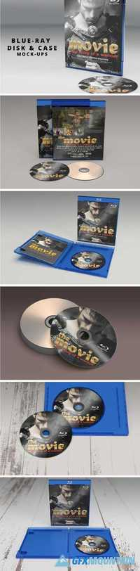 BLUE RAY DISK & COVER MOCKUP - 1659058