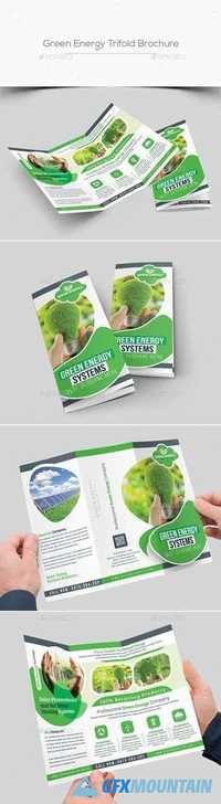 Green Energy Trifold Brochure 20391733