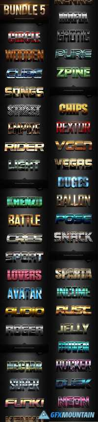 40 Photoshop Text Effects Bundles 5 20384194