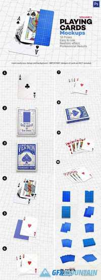 PLAYING CARDS MOCK-UP V.1 - 1708617