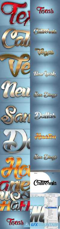 3D Text Styles R1 - 20087845