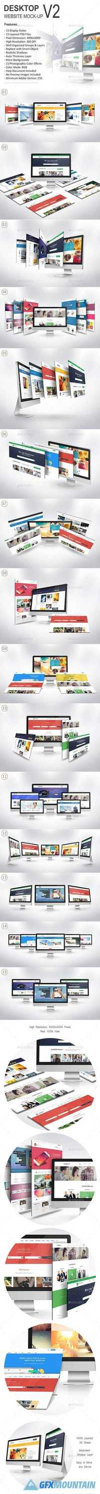 Desktop Website Mock-Up V2 - 20275229