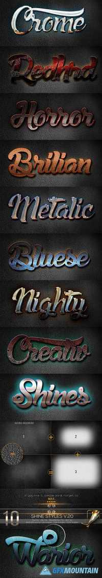 3D Text Styles R1 - 20180384