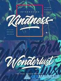 Kindness Typeface - 3 Version Style 1755913