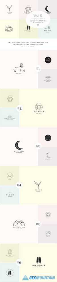 Feminine Premade Logo Bundle Vol.5 1790426