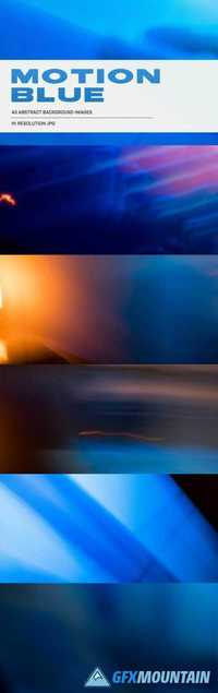 Thehungryjpeg - Motion Blue - 43 Abstract Background Images 75653