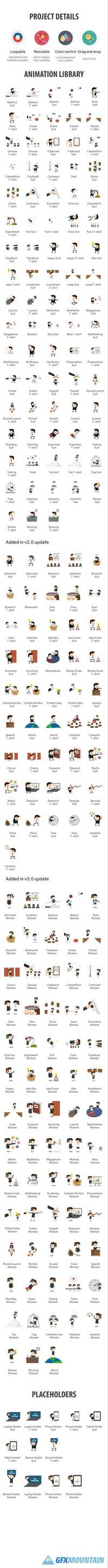 Character Animation Pack 19319782 » Free Download Graphics