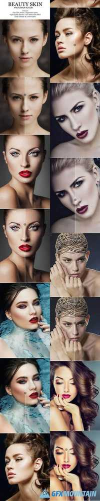 Beauty Skin Photoshop Action 20571575