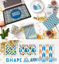 Shape Play Geometric Patterns 1846744