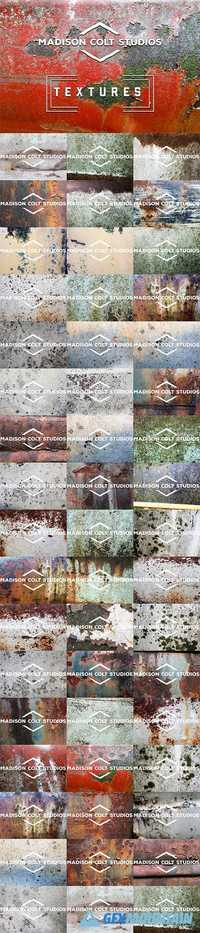 50 Rusty Metal Textures - Vol 3 1903658
