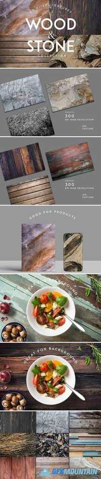 WOOD AND STONE TEXTURES BACKGROUNDS 1819781