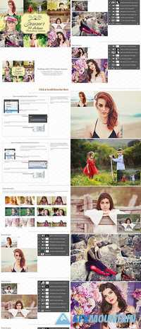 SUMMER ACTIONS FOR PHOTOSHOP 1853216