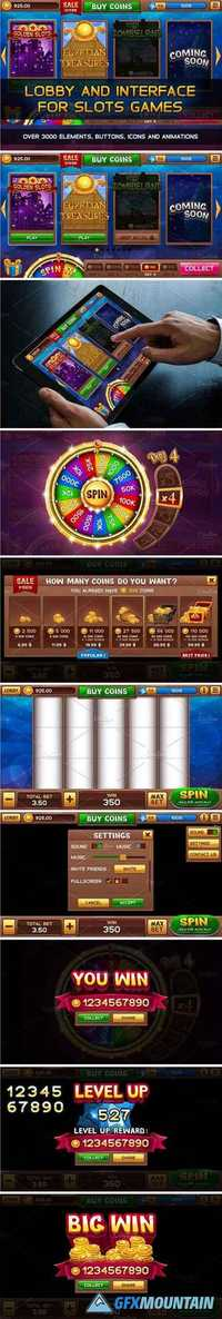 LOBBY AND GUI FOR SLOTS GAMES - 1883670