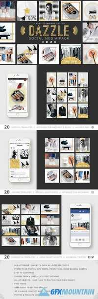 Dazzle Social Media Template Pack 1968747