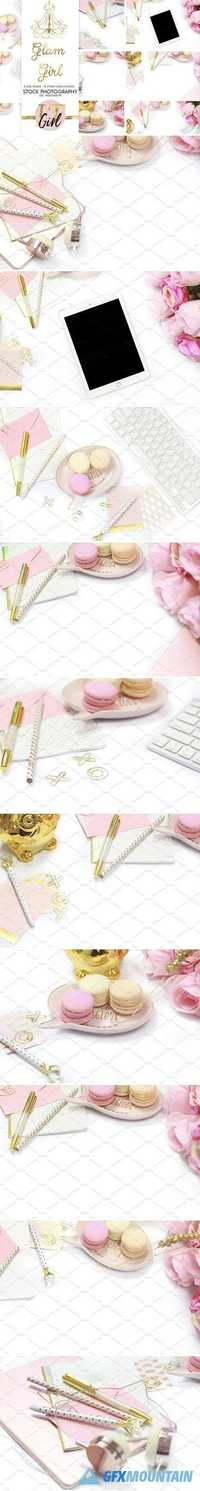 INTRO PRICE Pastel Pink Stock Bundle 1669737