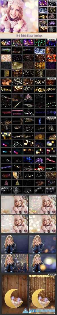 100 BOKEH PHOTO OVERLAYS - 1748229