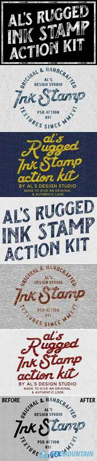 AL'S RUGGED INK STAMP ACTION KIT 1936294