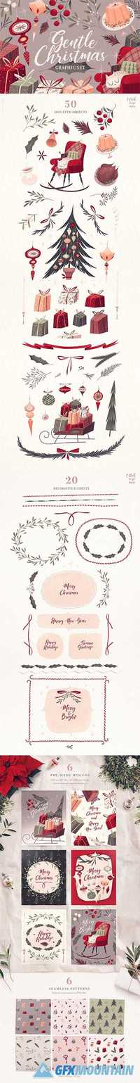 GENTLE CHRISTMAS GRAPHIC SET - 1906448