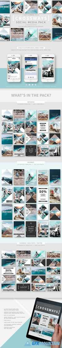 Crossways Social Media Template Pack 1925961