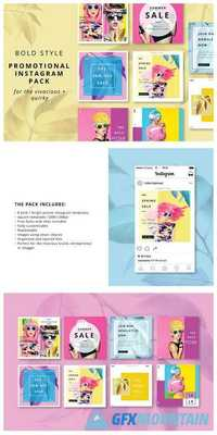 Bold Style Instagram Promo Pack 1983278