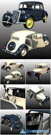 CITROEN TRACTION 1938 - for POSER