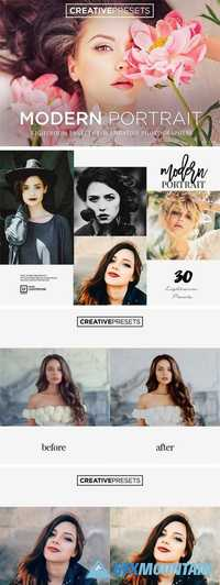 30 Lightroom Presets for Portrait 1986462
