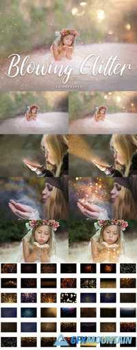 45 Blowing Glitter Overlays 2001673
