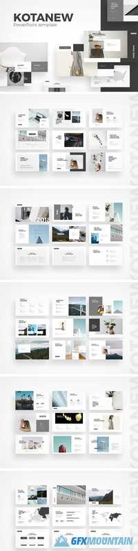Kotanew PowerPoint Template 1953699