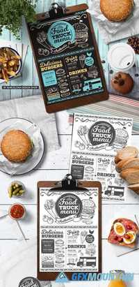 Food Truck Menu Template 2032109