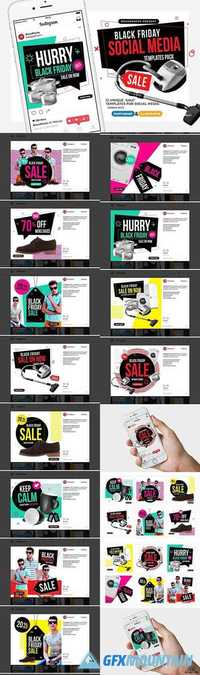 Black Friday Social Media Templates 1955381