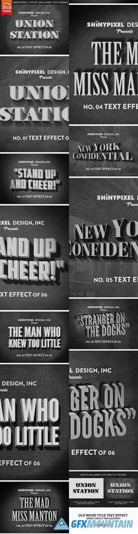 OLD MOVIE TITLE - TEXT EFFECT - 20961399