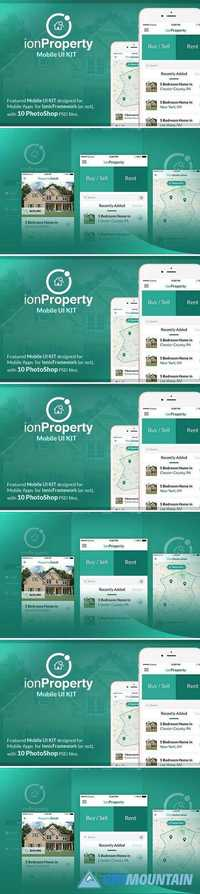 ionProperty - Mobile App UI KIT 1993772