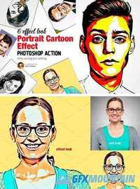 Portrait Cartoon Effect Action 2021990 » Free Download